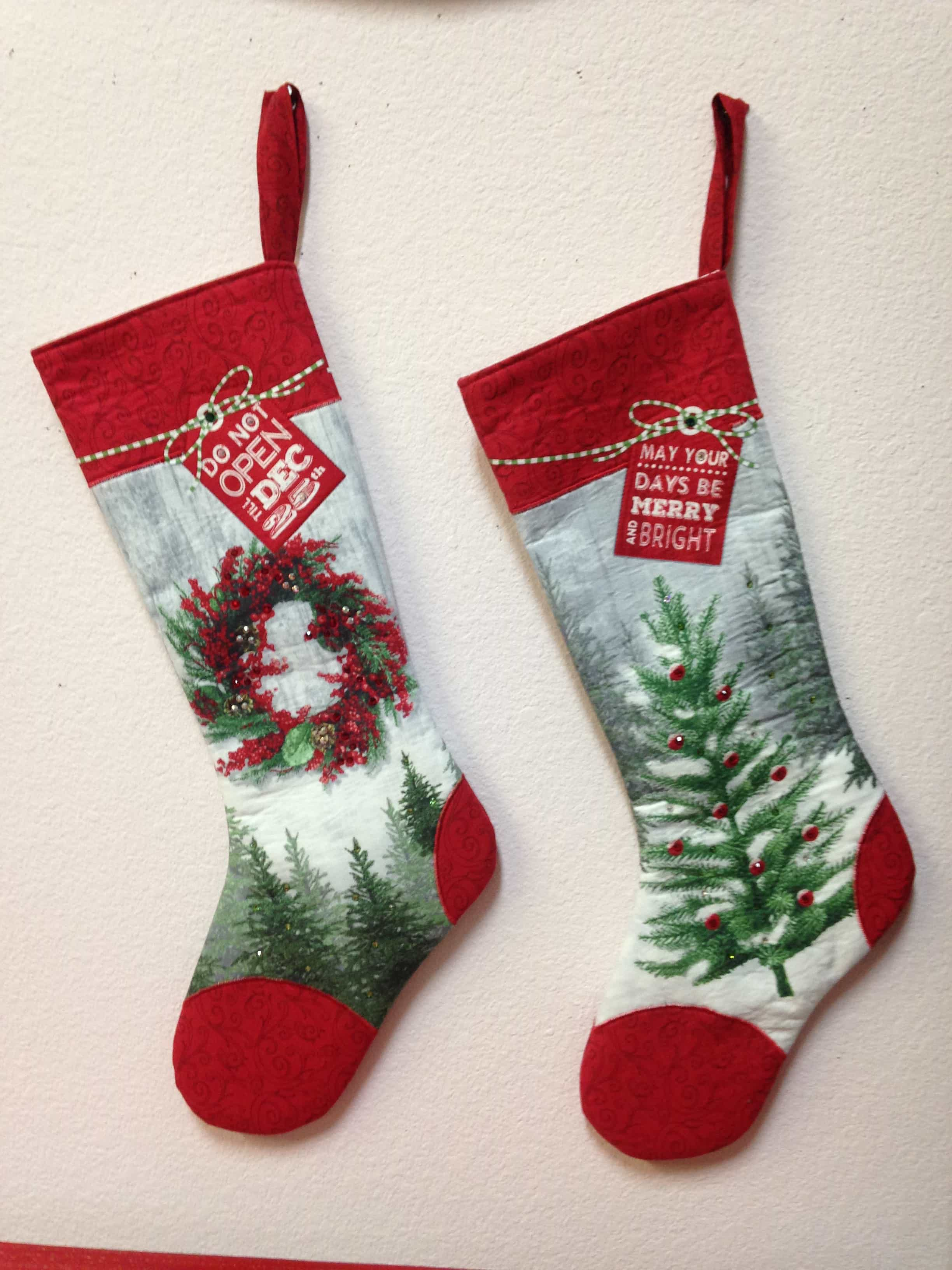 Holiday Traditions Stockings Panel
